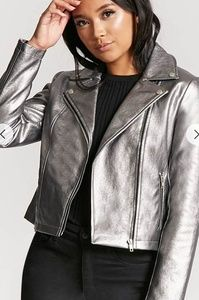 NWOT Metallic jacket ❤WHAT'S YOUR OFFER?❤